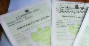 Rejestracja urodzenia dziecka (po zmianach 2015)