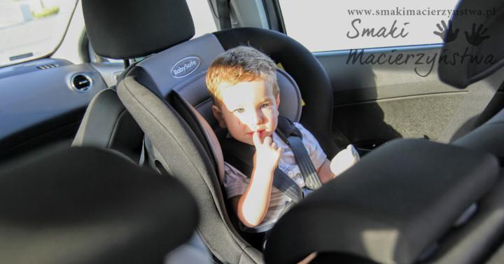 Recenzja: fotelik samochodowy BabySafe Akita